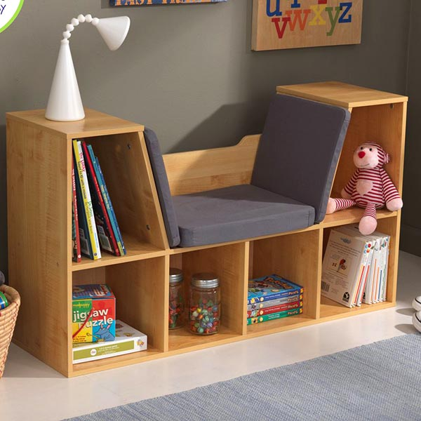 DIY wooden toy storage and bookcase #toystorage #bookcase @woodenstorage #diy #decorhomeideas