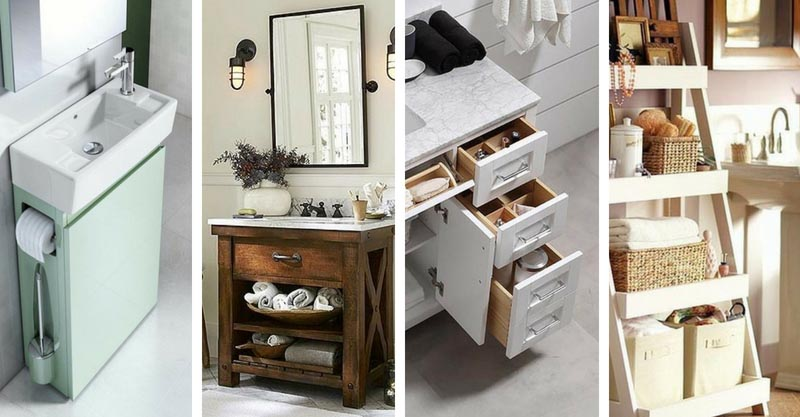 & 16 Awesome Vanity Ideas For Small Bathrooms | Decor Home Ideas