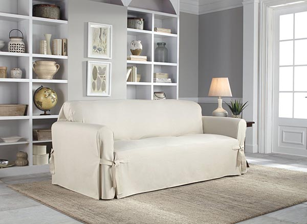 7 Awesome Wayfair Sofa Slipcovers Cotton Box #slipcover #sofa #wayfair #couch #decorhomeideas