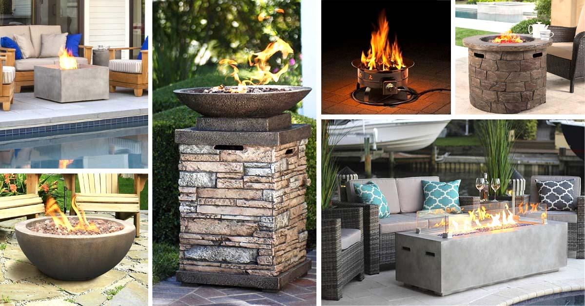 10 Best Gas Fire Pits For Deck In 2021 Decor Home Ideas
