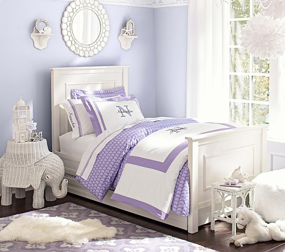 Classic purple bedroom for teenage girl #purplebedroom #teenbedroom #girlbedroom #bedroom #homedecor #decorhomeideas