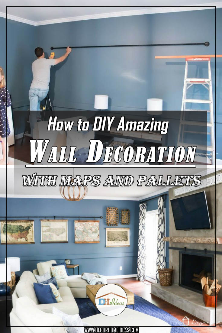 How to DIY Amazing Wall Decoration #diy #pallet #walldecor #homedecor #decorhomeideas