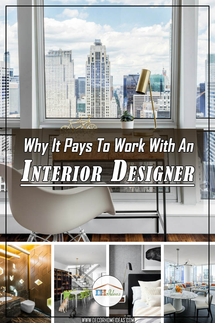 Why It Pays To Work With An Interior Designer