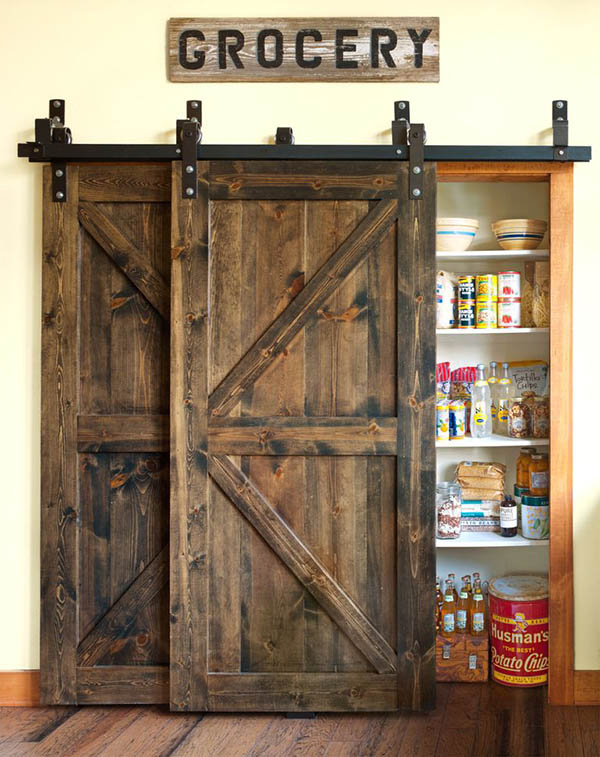 Barn doors farmhouse kitchen decor #farmhousekitchen #farmhouse #farmhousedecor #kitchen #homedecor #decorhomeideas