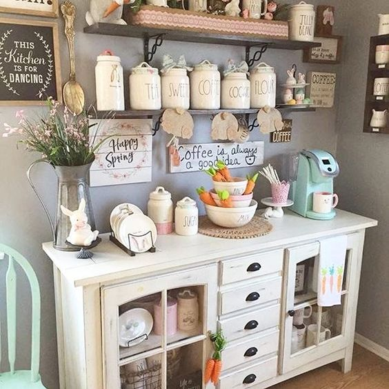 Lovely Farmhouse Kitchen Decor #farmhousekitchen #farmhouse #farmhousedecor #kitchen #homedecor #decorhomeideas