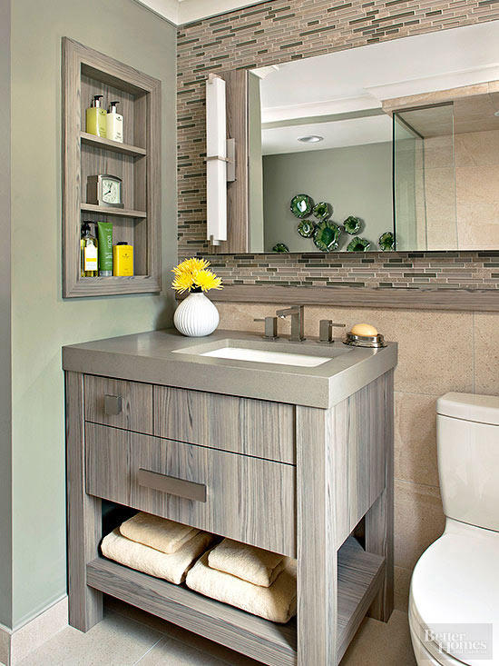 Contemporary classic vanity ideas #vanity #bathroomvanity #vanityideas #bathroom #bathroomideas #storage #organization #decorhomeideas