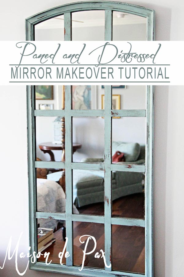 DIY Curved Mirror Makeover #diy #mirror #diymirror #cheapmirror #decorhomeideas
