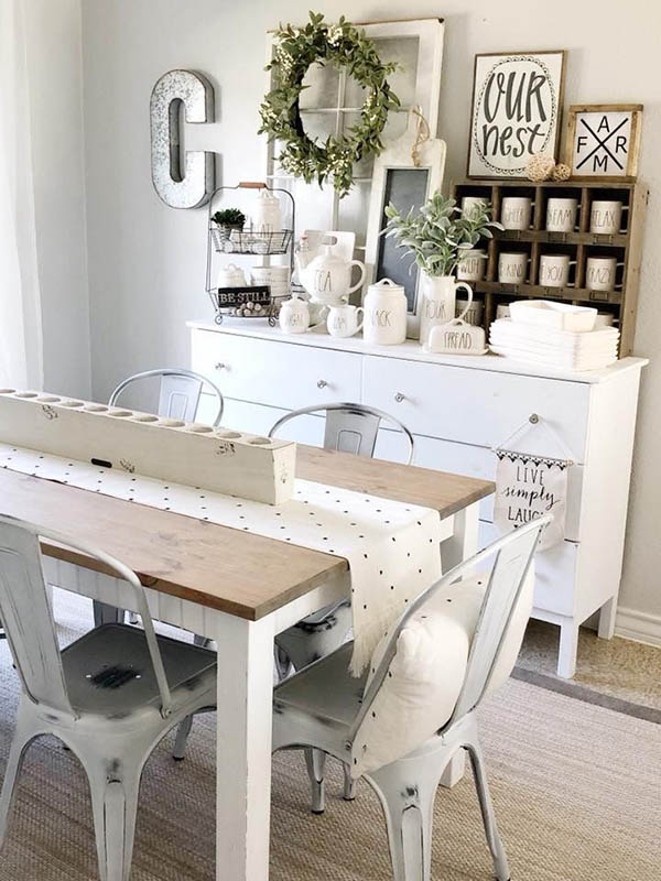 Farmhouse kitchen decor and design ideas #farmhousekitchen #farmhouse #farmhousedecor #kitchen #homedecor #decorhomeideas