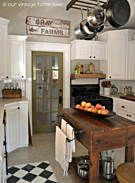 Farmhouse kitchen decoration #farmhousekitchen #farmhouse #farmhousedecor #kitchen #homedecor #decorhomeideas
