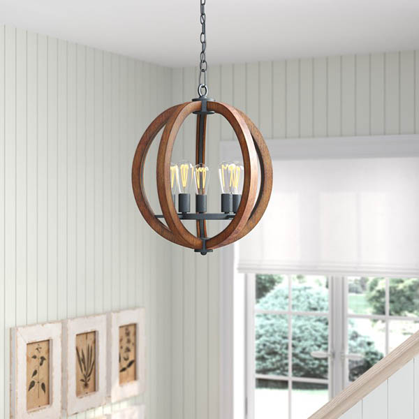 Rustic Foyer Farmhouse Pendant #farmhousependant #farmhouse #pendant #farmhhousedecor #decorhomeideas