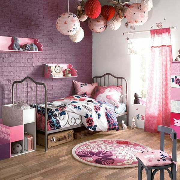 Ideas And Designs For Girls: 17 Unique Purple Bedroom Ideas For Teenage Girl