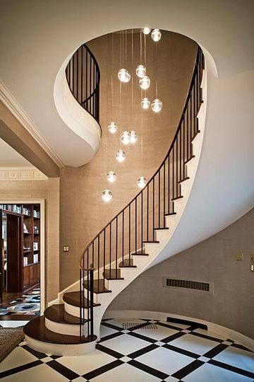 Simple staircase spiral design #staircase #stairway #stairs #staircaseideas #decorhomeideas