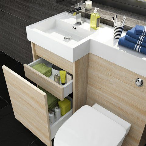 Sink and toilet in one #vanity #bathroomvanity #vanityideas #bathroom #bathroomideas #storage #organization #decorhomeideas