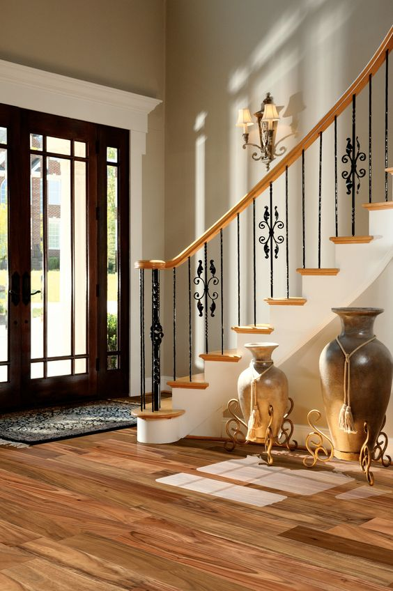 Staircase decoration ideas #staircase #stairway #stairs #staircaseideas #decorhomeideas