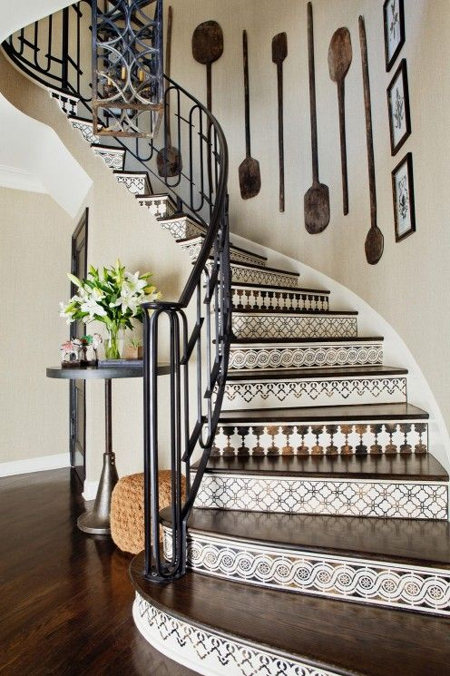 Staircase decoration #staircase #stairs #stairway #stairsdecoration #homedecor #decorhomeideas