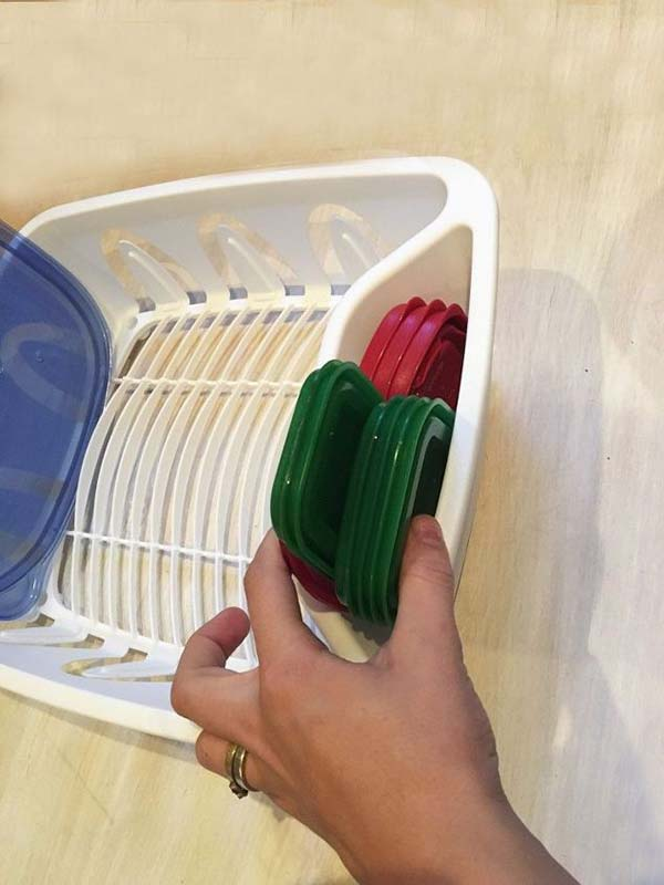 5 Steps to organize food storage containers