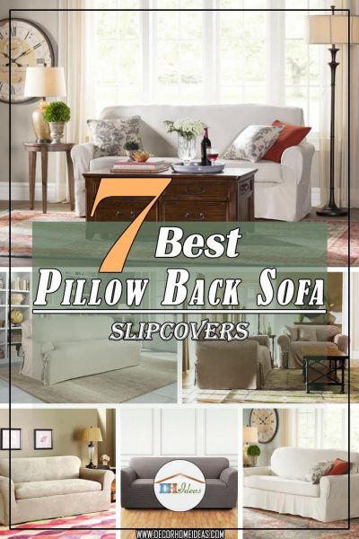 7 Best Pillow Back Sofa Slipcover Ideas for %%currentyear ...