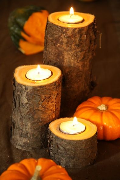 DIY fall candles #falldecor #fallideas #candles #candlesdecor #decorhomeideas