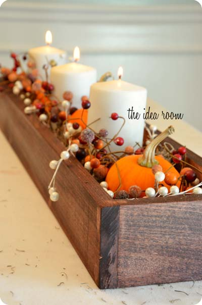 DIY fall centerpiece ideas #fallcenterpiece #falldecor #diy #falldecoration #thanksgiving #decorhomeideas