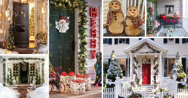 Front Porch Christmas Decorations.55 Amazing Front Porch Christmas Decorations You Ll Love To