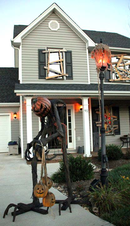 Halloween outdoor decorations #halloweendecorations #halloween #diyhalloween #halloweendecor #decorhomeideas