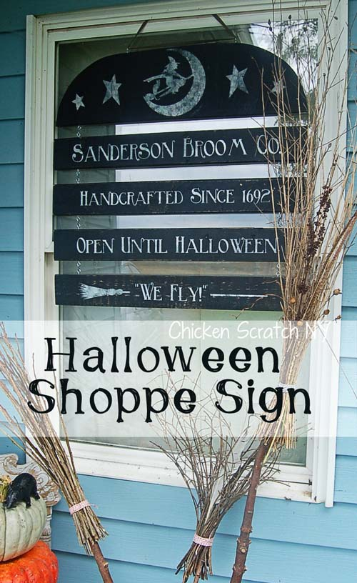 Halloween window sign #halloweendecorations #halloween #diyhalloween #halloweendecor #decorhomeideas