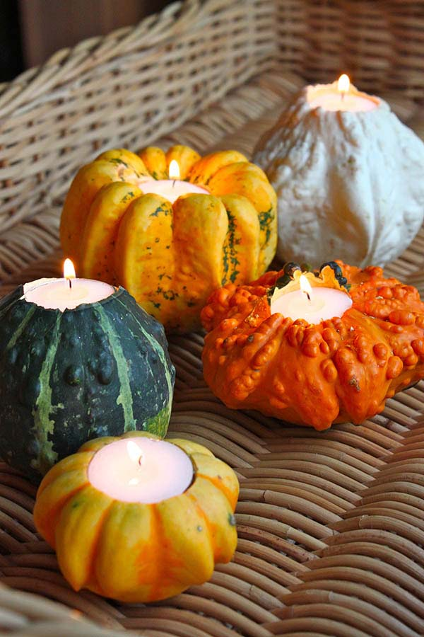 Pumpkin fall candle decorations #falldecor #fallideas #candles #candlesdecor #decorhomeideas