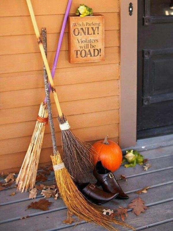 Spooky Sign Halloween outdoor decoration #halloweendecorations #halloween #diyhalloween #halloweendecor #decorhomeideas