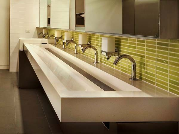 Astounding The Ultimate Trough Bathroom Sink Buying Guide Download Free Architecture Designs Scobabritishbridgeorg