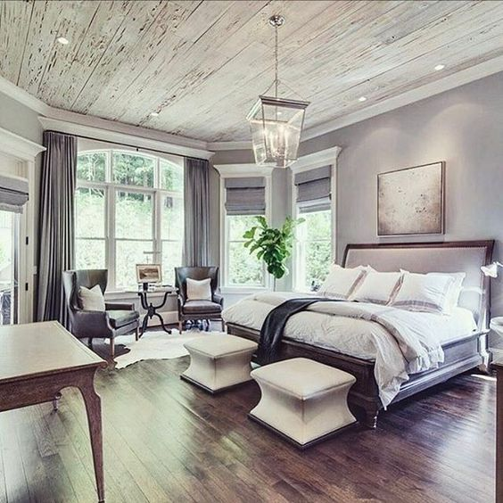 Clean design master bedroom #bedroom #masterbedroom #sittingarea #homedecor #interiordesign #decorhomeideas