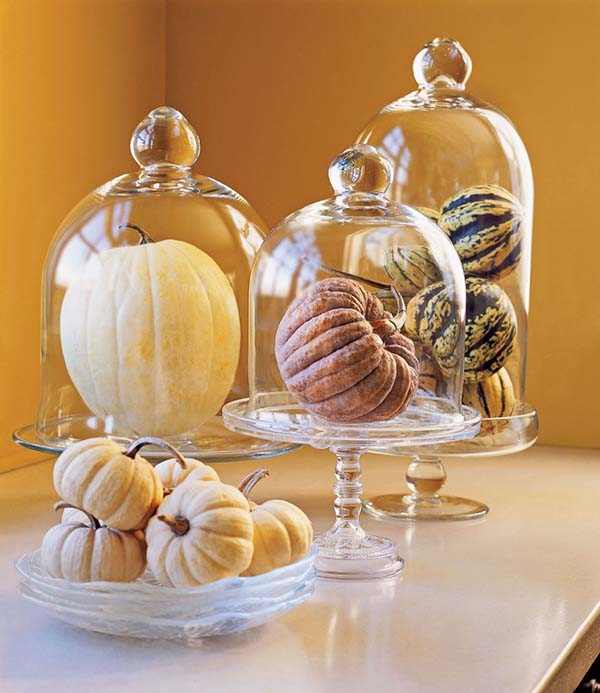 Elegant pumpkin centerpiece #fallcenterpiece #falldecor #diy #falldecoration #thanksgiving #decorhomeideas