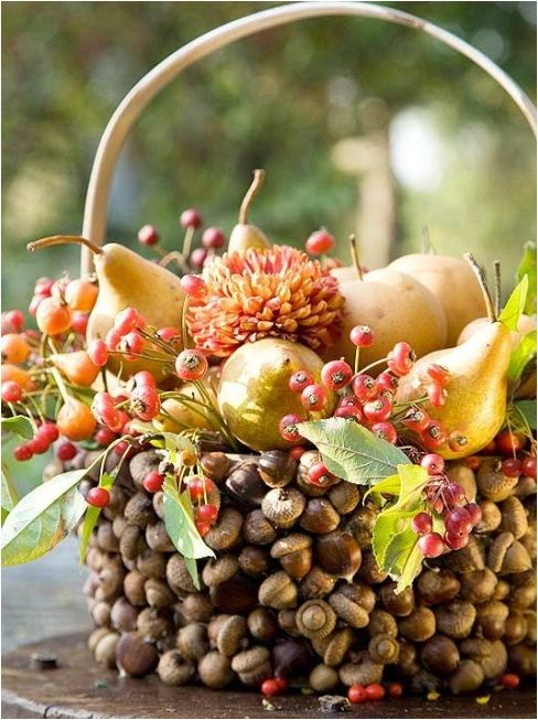 Fall decor centerpiece #fallcenterpiece #falldecor #diy #falldecoration #thanksgiving #decorhomeideas