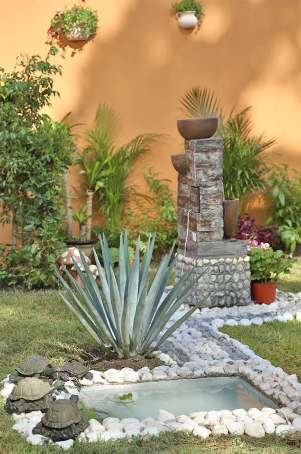 Garden landscaping turtle pond #garden #landscaping #gardenideas #decorhomeideas