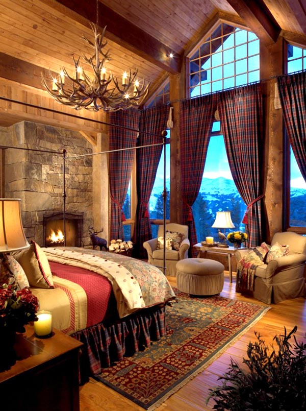 Master bedroom lodge #bedroom #masterbedroom #sittingarea #homedecor #interiordesign #decorhomeideas