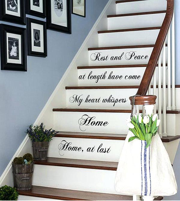 27 Awesome Staircase Decorating Ideas You've Never Thought