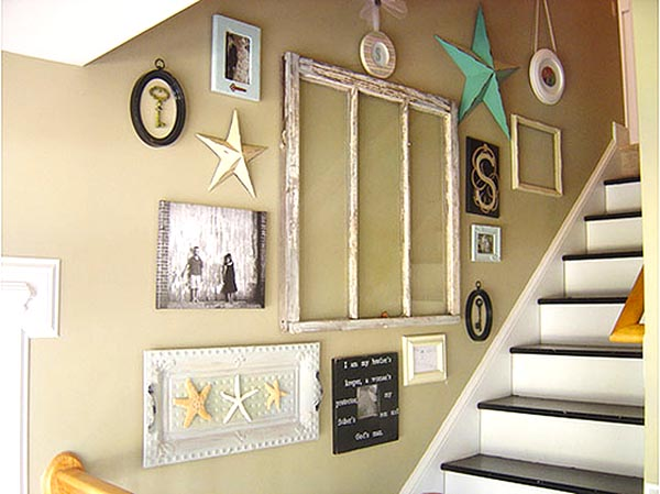 Stars themed staircase decorating ideas #staircase #stairs #stairway #stairsdecoration #homedecor #decorhomeideas