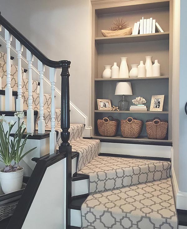 Storage staircase decoration ideas #staircase #stairs #stairway #stairsdecoration #homedecor #decorhomeideas