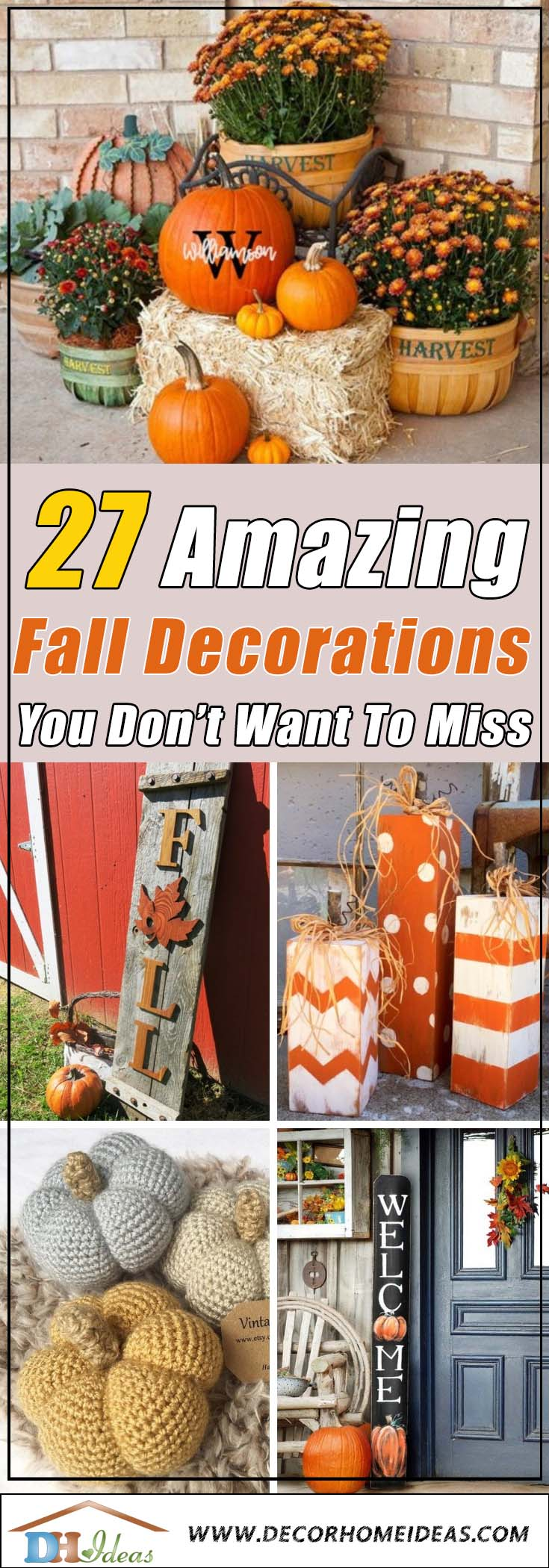Best Fall Decorations #falldecor #etsy #fallideas #falldecoration #decorhomeideas