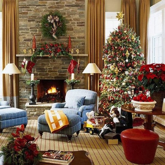 Christmas Living Room Decoration