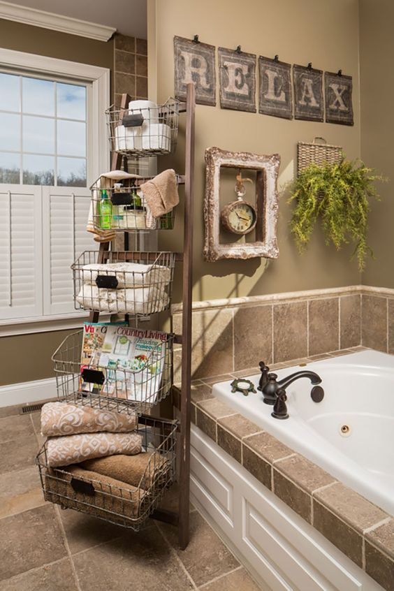 Country Bathroom Decor #countrybathroom #countrydecor #bathroom #farmhouse #decorhomeideas
