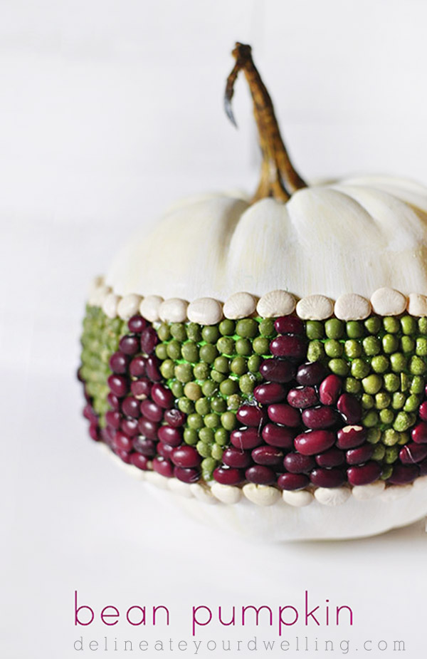 DIY Bean Pumpkin No Carve Ideas #pumpkin #falldecor #nocarve #homedecor #decorhomeideas
