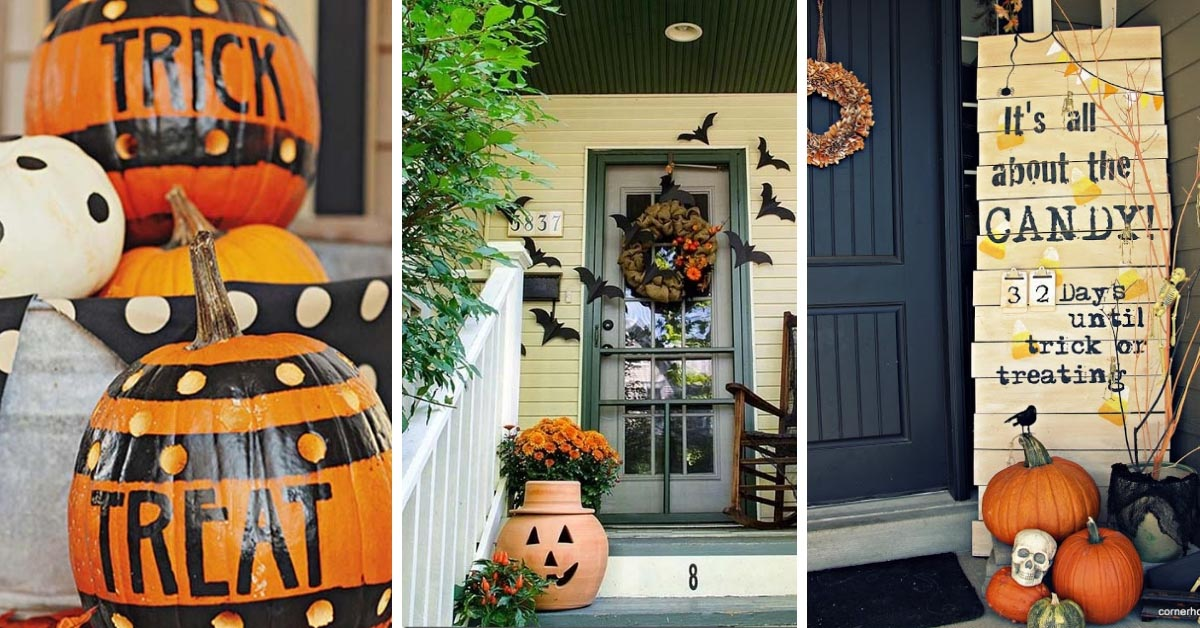74 Best DIY Outdoor Halloween Decorations Complete
