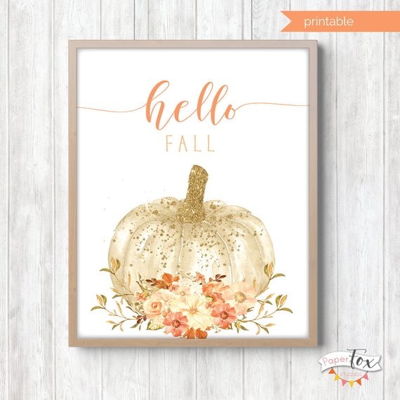 Fall Decor Printable #falldecor #etsy #fallideas #falldecoration #decorhomeideas