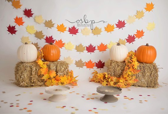 Maple Leaf Garland #falldecor #etsy #fallideas #falldecoration #decorhomeideas
