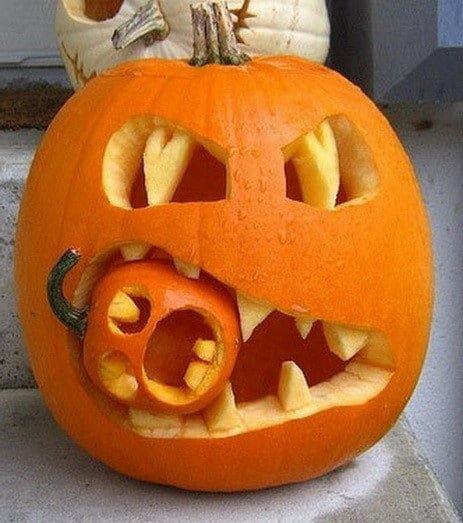 Pumpkin Carving Ideas #pumpkin #carving #halloween #falldecor #decorhomeideas