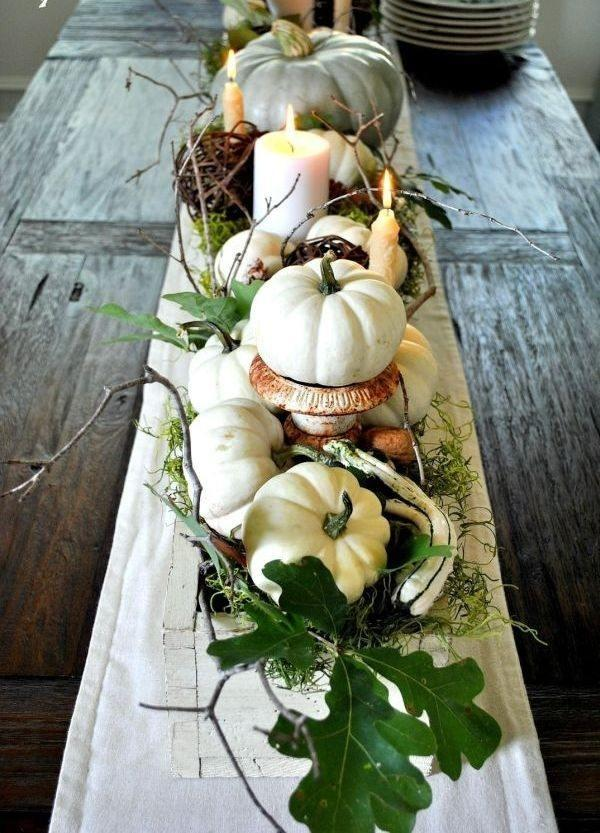Rustic Decor Pumpkin Centerpiece #pumpkindecor #centerpiece #falldecor #decorhomeideas