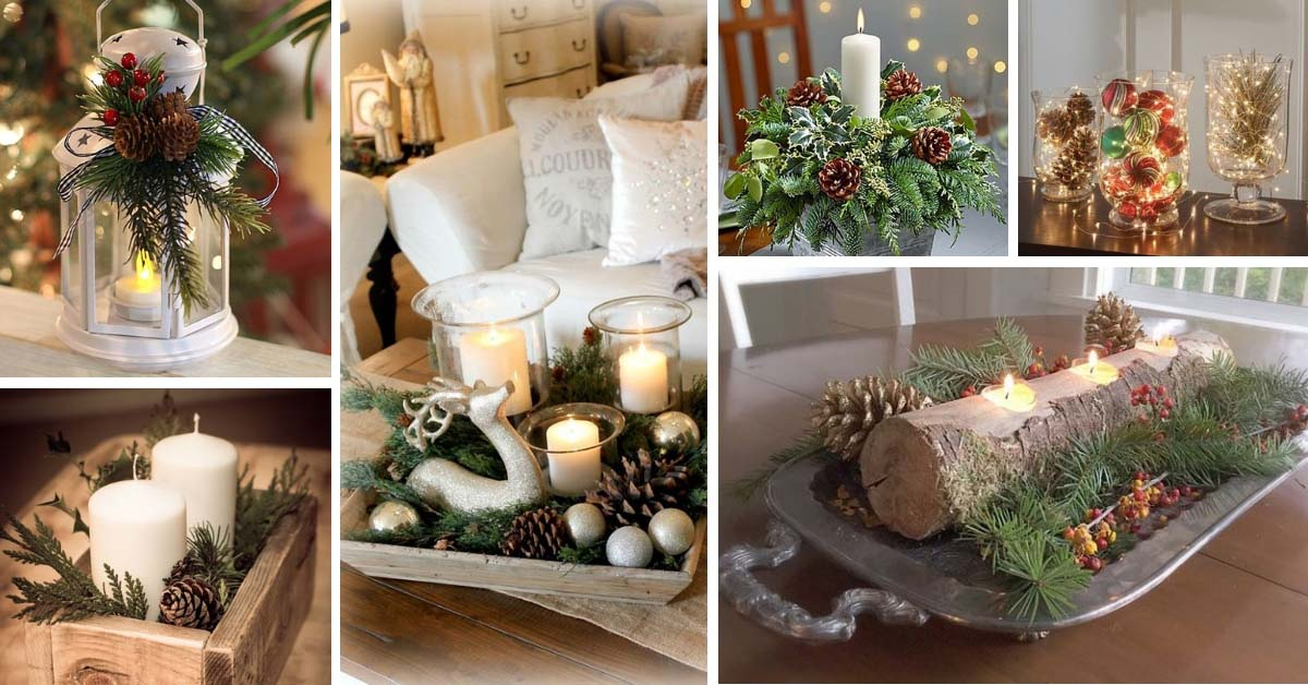 20 Magical Christmas Centerpieces That Will Make You Feel The Joy Of The Holidays Decor Home Ideas