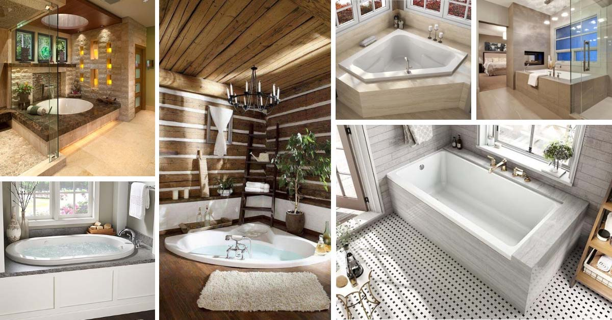 24 Fabulous Drop In Tub Ideas And Designs For 2019 Decor