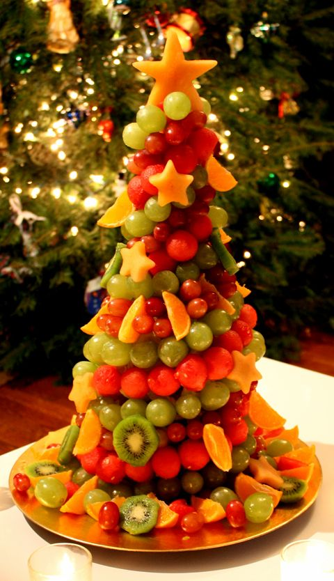 Big Fruit Christmas Tree