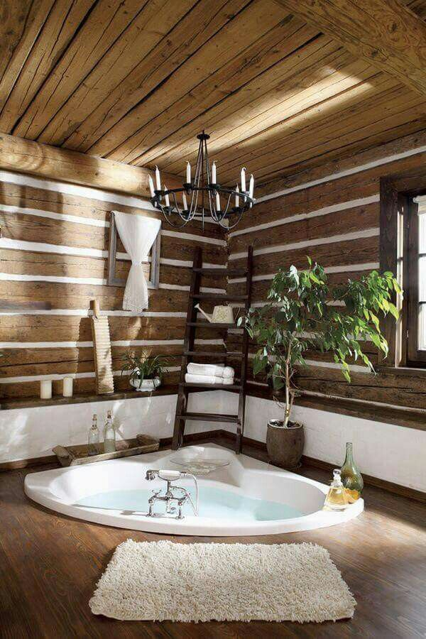 Built-In Floor Bathroom Tub #dropintub #bathtub #tub #ideas #decorhomeideas